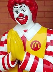 Thailand McDonalds Buddha Ronald