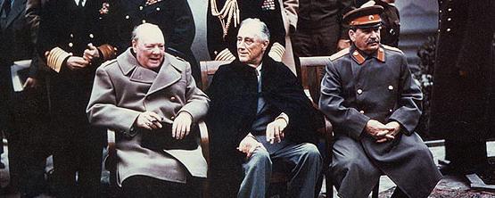 Churchill Roosevelt Stalin | The Alpha Males