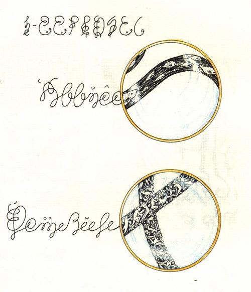 Codex Serpahinianus ink