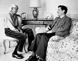 Krishnamurti and David Bohm