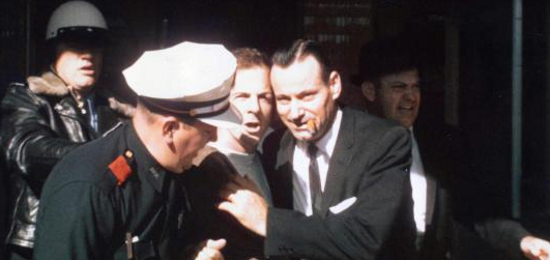 Lee Harvey Oswald Getting Arrested