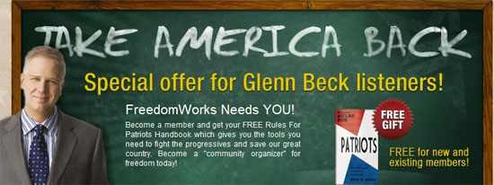 Take America Back | Glenn Beck | LMFAO
